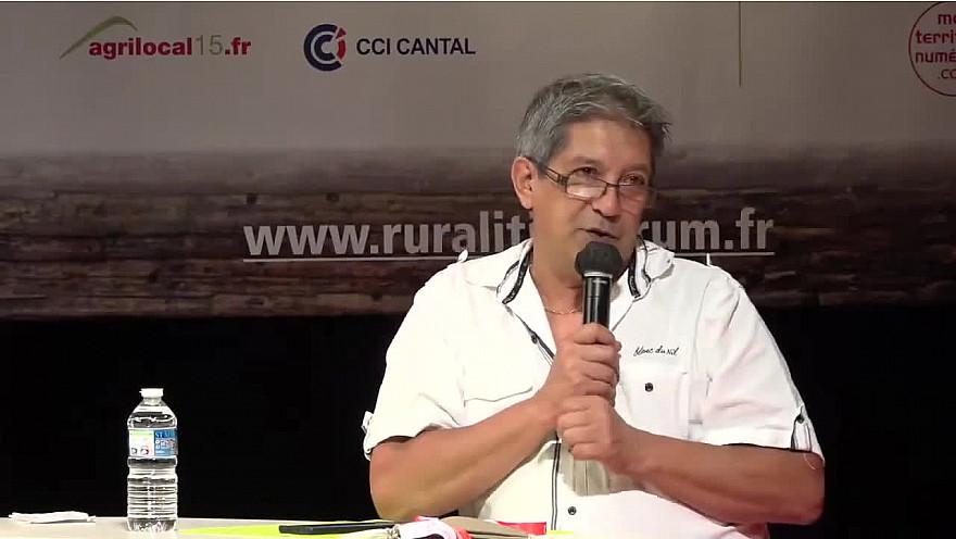 Michel Lecomte, fondateur de SmartRezo @smartrezo - Gaëlle Laborie Présidente de l'AssoTvLocale à RuraliTIC 2020 #MLECOMTE @MTN_cote #Ruralitic2020 @cantalauvergne #smartrezo @Gaellelaborie @assotvlocale